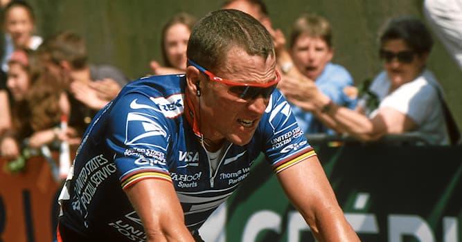 Спорт Вопрос: Кто из перечисленных – единственный спортсмен, 7 раз финишировавший первым в общем зачёте Тур де Франс?