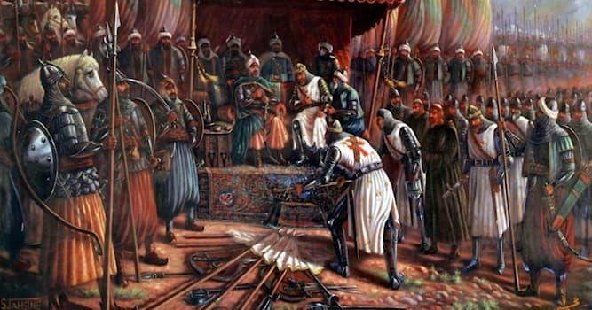 История Вопрос: Кто завоевал Иерусалим в 1187 году?