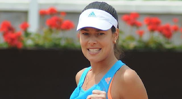 Спорт Вопрос: Родом из какой страны теннисистка Ана Иванович?