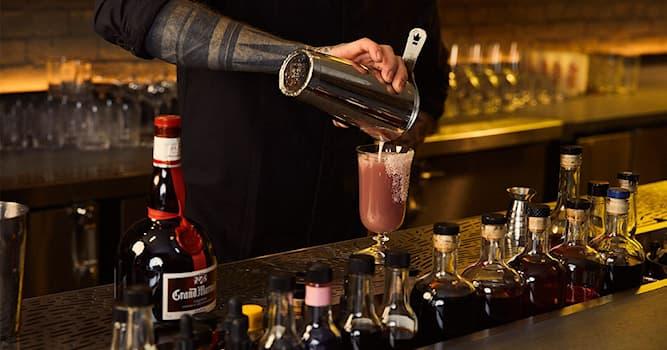 Culture Trivia Question: The liqueur Grand Marnier Cordon Rouge contains what spirit?
