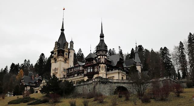 География Вопрос: В какой стране находится замок Пелеш?