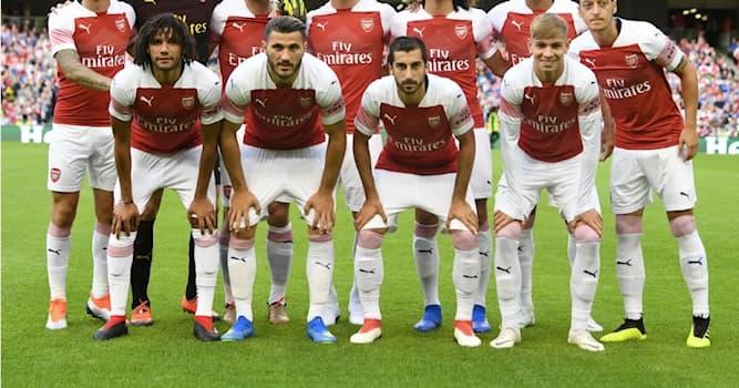 Спорт Вопрос: В каком году основали футбольную команду Arsenal?