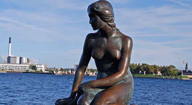 Культура Вопрос: В каком городе находится статуя Русалочки?