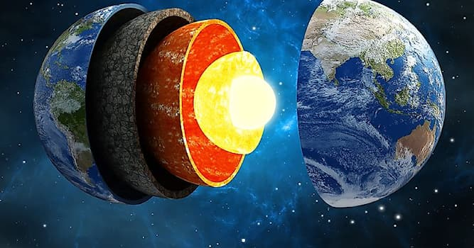 Science Trivia Question: What are the four layer's of the earth?