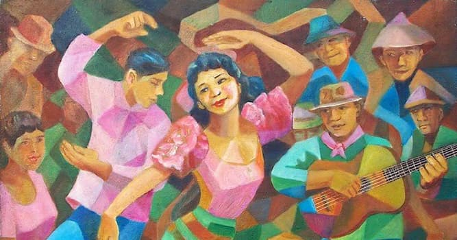 """Culture Trivia Question: What country performs the traditional dance """" cariñosa""""?"""