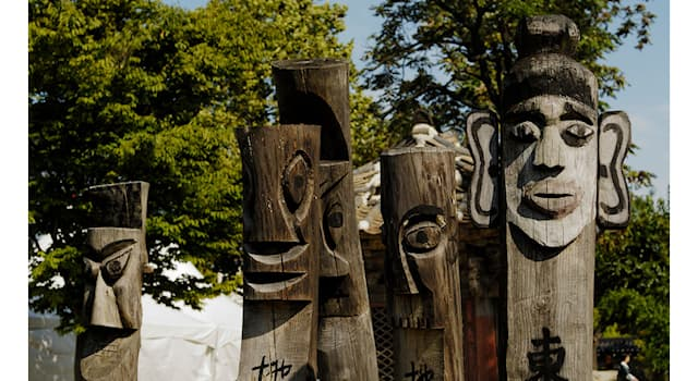 History Trivia Question: What do you call these 'Korean' totem poles as the mark for village boundaries and frighten away demons?