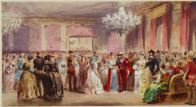 Society Trivia Question: What do you call a large room for dances?