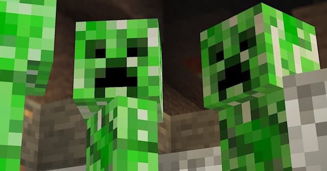 Culture Trivia Question: What do you call these creatures in the video game, Minecraft?