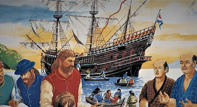 History Trivia Question: What explorer was known as 'The Western Samurai'?