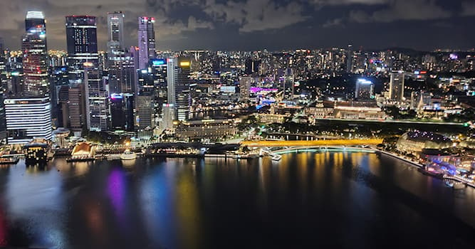 Geography Trivia Question: What is the capital city of Singapore?