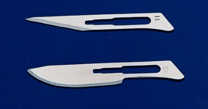 Science Trivia Question: What is the most commonly used surgical blade?