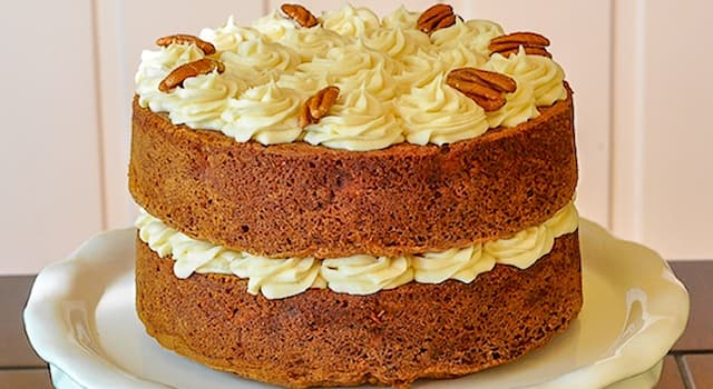 Culture Trivia Question: What is the name of the cake that includes banana, pineaple and pecans shown in the picture?