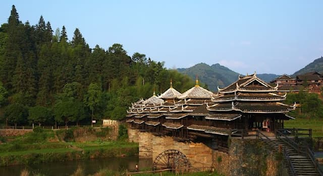 Culture Trivia Question: What kind of bridge is the Chengyang Bridge?