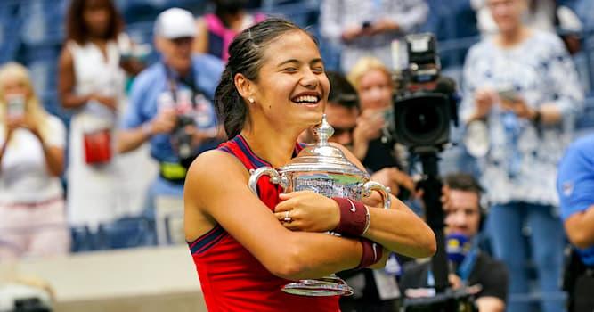 Sport Trivia Question: What nationality is the tennis US Open 2021 winner Emma Raducanu?
