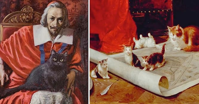 Society Trivia Question: What was the name of Cardinal Richelieu's black cat?