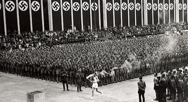 History Trivia Question: When an attempted boycott failed, how many countries participated in the Olympics in Berlin, Germany in 1936?
