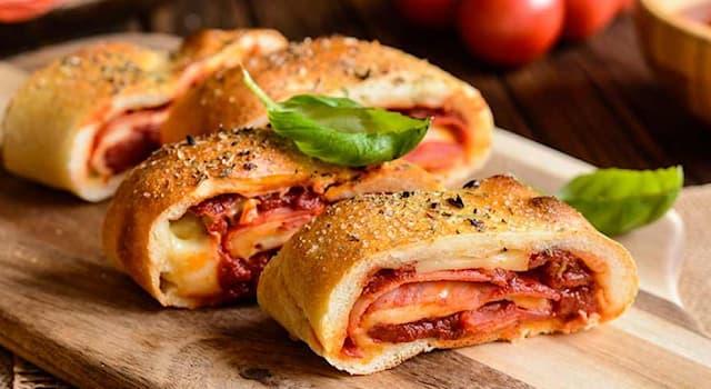 Culture Trivia Question: Where did Stromboli (pizza like dish) have its origin?