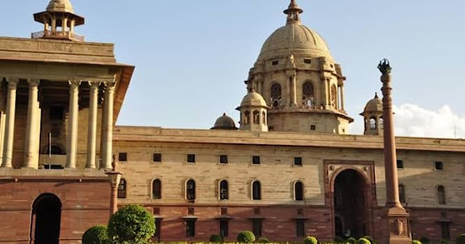 Geography Trivia Question: In which state is 'Rashtrapati Bhavan' located?