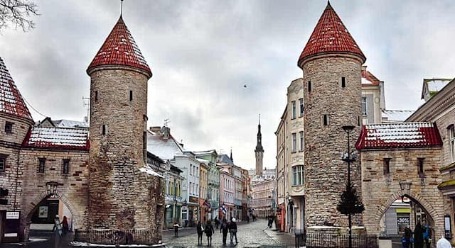 Geography Trivia Question: Where is the historical city of Tallinn?