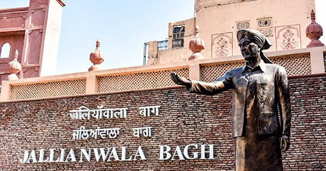 Culture Trivia Question: Where is the Jallianwala Bagh memorial situated?