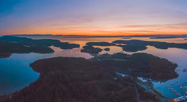 Geography Trivia Question: Where is the San Juan Archipelago located?
