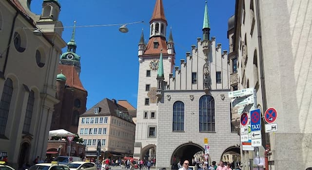 Geography Trivia Question: Where is this Old Town Hall situated in Germany?