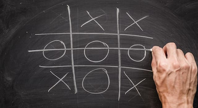 Culture Trivia Question: Which British game is known in America as 'Tic-tac-toe'?