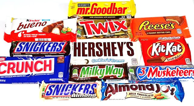 """Society Trivia Question: Which candy bar tells consumers to """"Gimme A Break""""?"""
