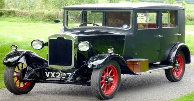 Culture Trivia Question: Which motor car company manufactured this 1927 'small family' car?
