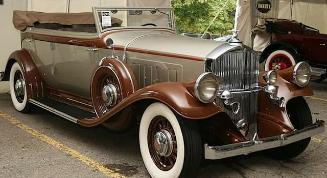 Culture Trivia Question: Which motor car company was the manufacturer of this beautiful convertible car pictured below?