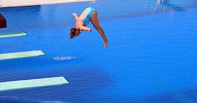 Sport Trivia Question: Which of the following is used in competitive diving?