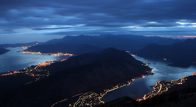 Geography Trivia Question: Where is the Bay of Kotor?
