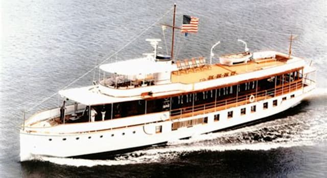 """History Trivia Question: Which U.S. President sold the """"Presidential Yacht""""?"""