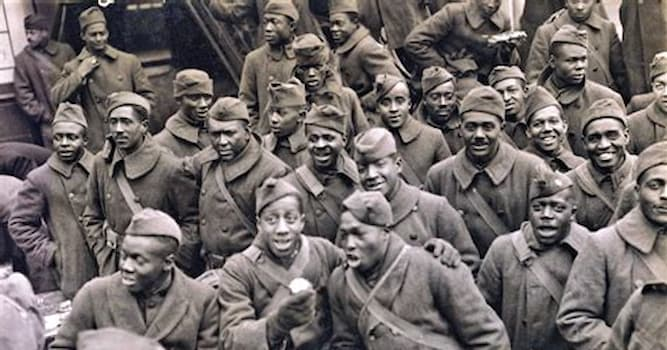 History Trivia Question: Which World War I regiment spent 191 days in frontline trenches in France, more than any other American unit?