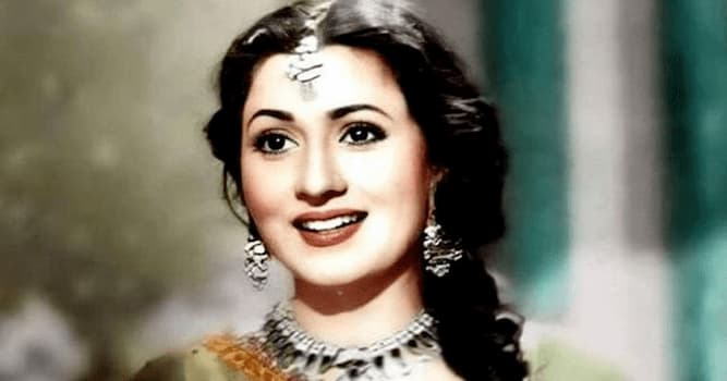 Movies & TV Trivia Question: Who is this beautiful Indian movie actress?