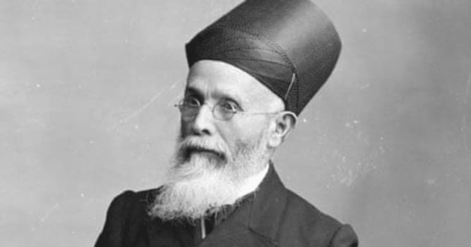 History Trivia Question: Who was known as the 'Grand Old Man of India'?