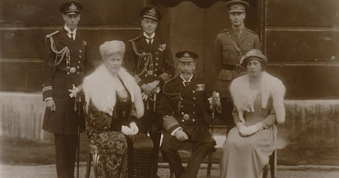 History Trivia Question: Who was Queen Elizabeth II's paternal grandfather?