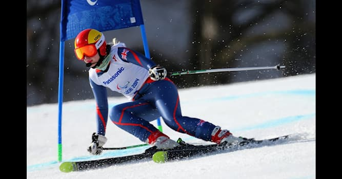 Sport Trivia Question: Who was the first British athlete to win a Winter Paralympic gold medal?