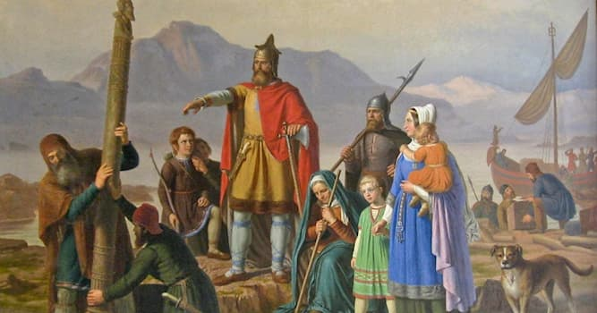 History Trivia Question: Who was the first man to deliberately sail to Iceland?