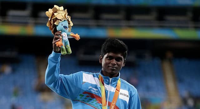 Sport Trivia Question: Who won the first gold medal for India since the 2004 Paralympics?