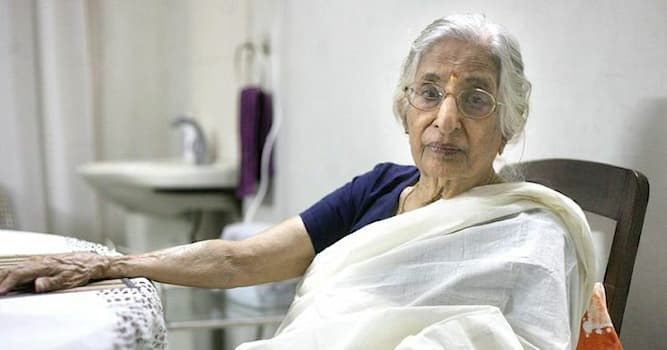Society Trivia Question: As of 2021, who is the first Indian female psychiatrist treating the patients at the age of 98 years?