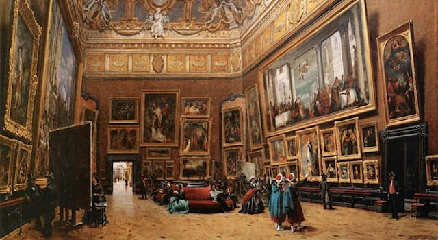 History Trivia Question: Before opening as a public museum in 1793, which art museum was a royal palace?