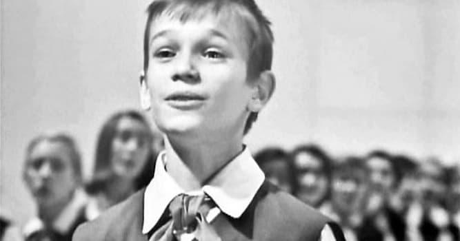 Культура Вопрос: Этого мальчика в СССР в первой половине 70-х годов называли «советский Робертино Лоретти». Как его зовут?