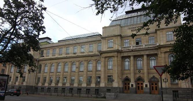 Наука Вопрос: Имя какого геолога носит Всероссийский научно-исследовательский геологический институт в Санкт-Петербурге?