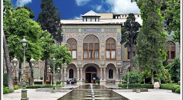 Geography Trivia Question: In which city is the Golestan Palace located?