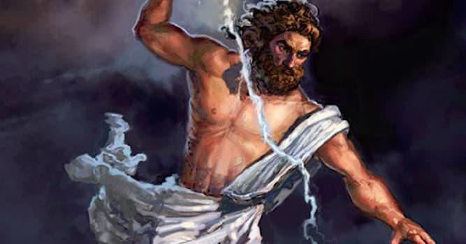 История Вопрос: К какой мифологии относится Зевс?
