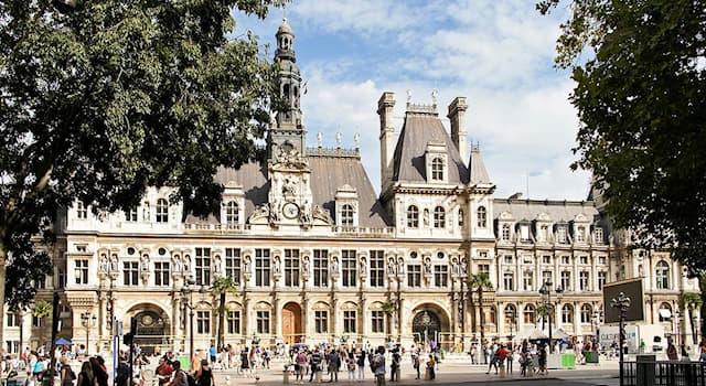 Культура Вопрос: Как называется эта достопримечательность Парижа?