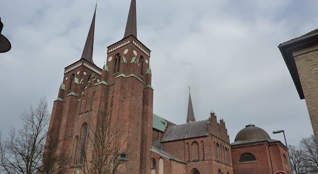 Культура Вопрос: Как называется главный собор Дании?