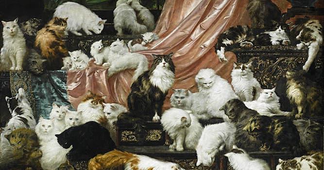 Культура Вопрос: Как называется представленная на фото картина австрийского художника Карла Калера?