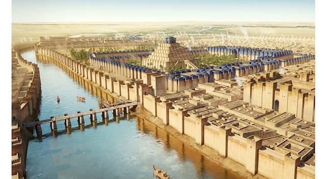 История Вопрос: Как с древнего семитского языка переводится название города Вавилон?